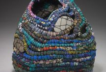 basketware and bags and amulets