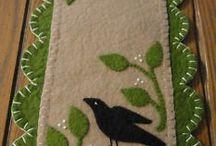 toalha mesa feltro
