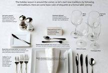 Etiqueta a mesa