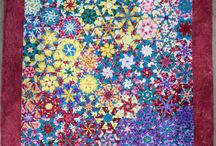 Show Off Quilts / Our Quilters show off their quilts.