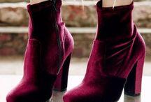 Velvet Shoes / Velvet Boots