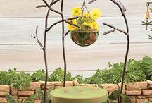 Fairy Garden Ideas / Adorable garden décor to help you create your own fairy garden! If you're not into fairies, but you love the mini garden décor, set up a mini gnome garden instead.