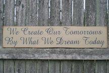 Frases / Inspiração