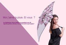 Parapluies photo / Création de parapluies originaux avec des photos.