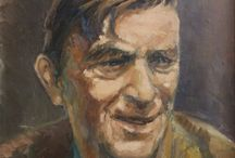 Portraits in oil_artlidia / I love this subject in art. I'm painting portraits on order also.
