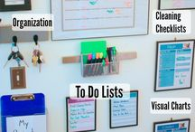 Home Management: Command Center / Ideas for building our command center / by Midwest Modern Momma