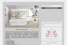 Sims 4 house/decor
