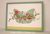 Stampin' Up! Floral Wings Hostess Set / I love to make Pinterest boards for my favorite stamp sets.  Check out my blog http://mybeautyscraps.blogspot.com for tutorials using this set.  Don't have it yet?  Shop with me at http://beautyscraps.stampinup.net