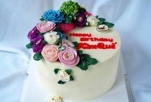 Butter Flower Cake