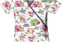 Garfield Scrubs / Garfield Scrub Tops