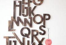 harf  harf tasarımı.