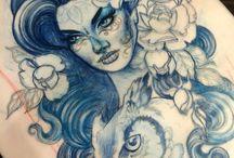 tattoo pojcts -woman