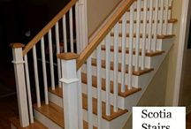 Craftsmen Staircase Job by Scotia Stairs Limited