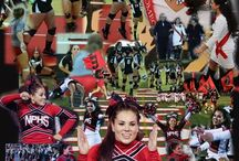 Cheerleading / Dance Collages / Collages of cheerleaders and dancers I photographed