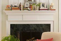 Fireplace Mantel Ideas / by Katie Pritchard