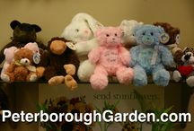 Stuffed Animals / We carry an extensive collection of stuffed animals to personalize your gift for that special someone!