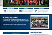 Web Design Projects / This board showcases web design and development projects by Melinda McCaw Media.