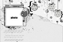Scrapbook: sketches and layout