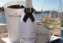 Champagne og vin