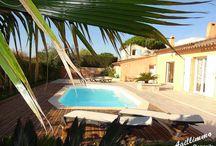 Immobilier PUGET SUR ARGENS / Terrains, appartements, maisons de village, villas et propriétés de luxe à vendre à FREJUS dans le Var en Provence Côte d'Azur