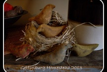 My Creations / by Gettysburg Homestead /Mary