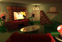 Deco salon jeux video
