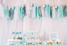 Tiffany Baby Shower Ideas