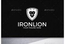 #lion #logo  #graphicriver #shield