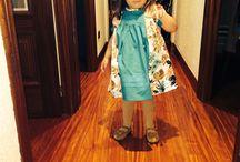 Mis creaciones / Estos son algunos de los vestidos que le hemos hecho a mi hija,la mayoría son patrones de espejito espejito
