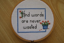 Craft Ideas / Crafts help us express ourselves to the world, do it yourself crafts like Cross-Stitch and Crochet make me happiest.