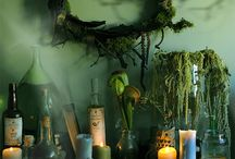 Haunted Voodoo Swamp / Ideas for decorating a Halloween voodoo swamp.
