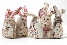 Easter bunnies/rabbits