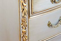 Furniture and Metallic paint for furniture