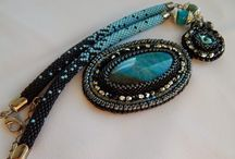 own creations / beading, bead crochet, bead embroidery