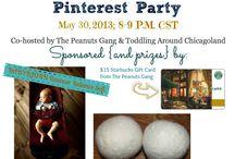 #MAYhemformoms / #MAYhemformoms Pinterest Party - May 30, 2013 8-9pm CST