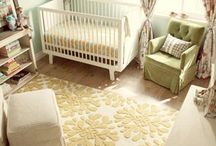 Nursery Decor / You want baby's first room to be perfect, right? Gather inspiration from these gorgeous nurseries!