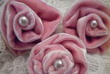 !!FLOWERS--Fabric/Velvet / by Kay Waldron