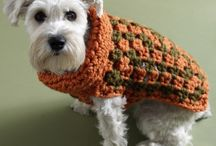 Handmade Crocheted Pet Accessories / Of course we can't forget about the puppies, kittens and fur babies in our lives! We all love handmade items, and this board is full of handmade pet beds, handmade blankets, cat caves, cat toys and more.
