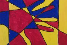 1st grade art / by Alyssa Gordon