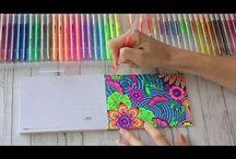 gel pen cards