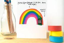 Rainbow Brights on Folksy