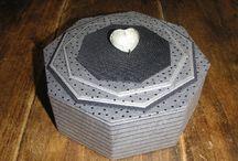 cartonnage boîte octogpnale