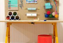 Playroom kreativ table