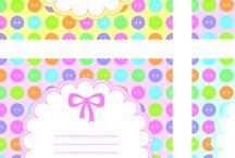 invitaciones de bebes / by creaciones F.M.K.