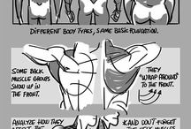 anatomy / refs and tutorials