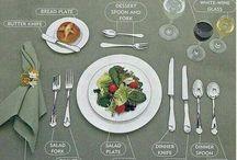 Étiquette repas