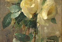 Ruže malba