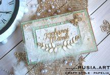 Dzień Matki / Ręcznie wykonane kartki i inne prezenty wykonane dla mamy, wykonane z materiałów marki Papelia oraz innych produktów dostępnych w sklepie Craft Style