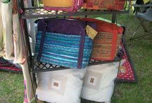 T.H.A.T. / Theresa Haslam Art Textiles - fabric art on handbags, table linen, cushions and quilts