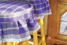 hamak,sandalye ve tabure düzenlemeleri